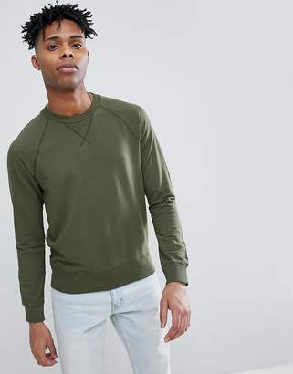 Benetton Raglan Crew Neck Sweatshirt