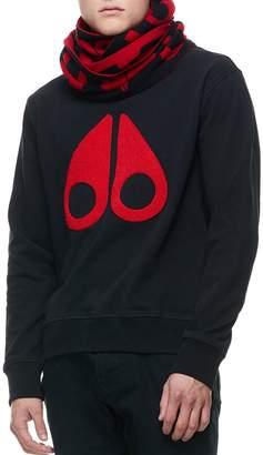 Moose Knuckles Logo Crewneck Sweatshirt