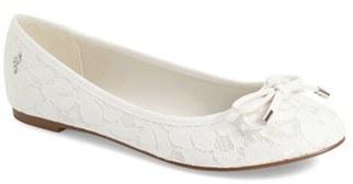 Women's Menbur 'Isidora' Bridal Flat $77.95 thestylecure.com