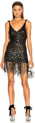 ATTICO Kristal Sequin Slip Dress