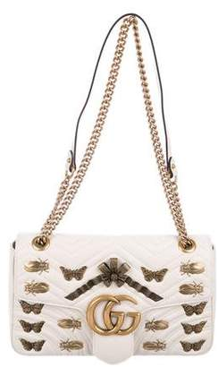 Gucci Medium GG Marmont 2.0 Animal Stud Matelassé Bag