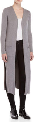 Normcore Ribbed Duster Cardigan