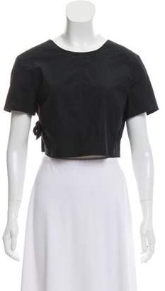 Marc by Marc Jacobs Short Sleeve Wrap Top