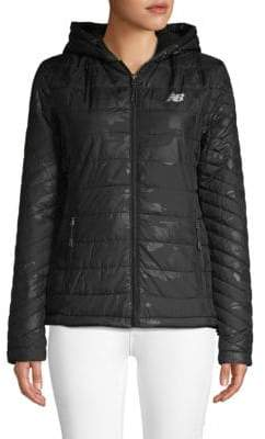 New Balance Quilted Camo Puffer Jacket