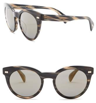 Oliver Peoples Dore 51 Round Cat Eye Sunglasses