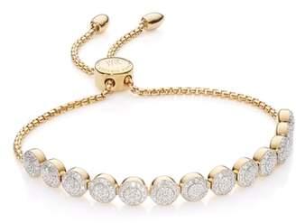 Monica Vinader Fiji Beaded Chain Diamond Bracelet