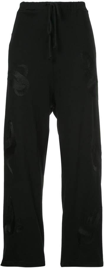 Ikumi embroidered track pants