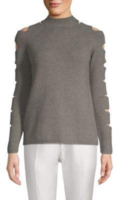 Fallon Raglan-Sleeve Sweater