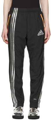 Adidas x Kolor Black Track Pants $235 thestylecure.com