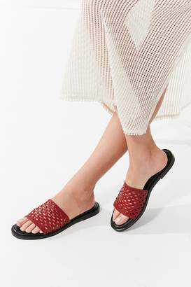 Urban Outfitters Basket Weave Slide