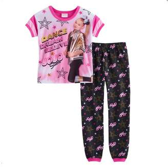 Nickelodeon Jojo Siwa Girls JoJo Siwa Dance Dream Top & Bottoms Pajama Set