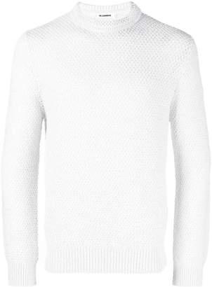 Jil Sander textured crewneck sweater