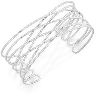 INC International Concepts I.n.c. Gold-Tone Crisscross Cuff Bracelet