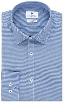 Ryan Seacrest Distinction Men's Ultimate Active Slim-Fit Non-Iron Performance Stretch Check Dress Shirt, Created for Macy's