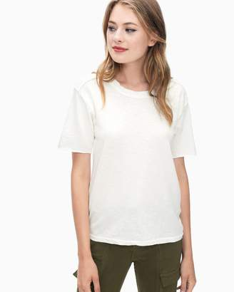 Splendid Cotton Slub Tee Shirt