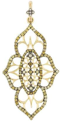 Loree Rodkin 18kt yellow gold and diamond pendant