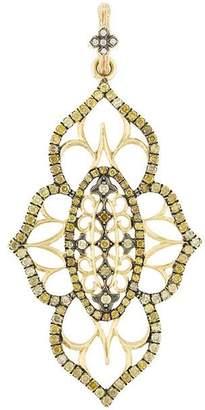 Loree Rodkin 18kt yellow gold and diamond pendant