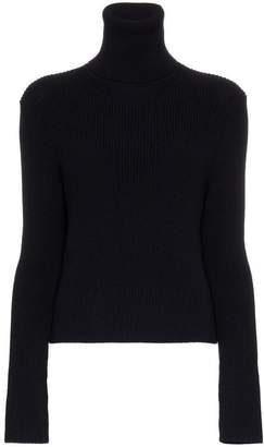 A_Plan_Application turtle neck ribbed wool jumper