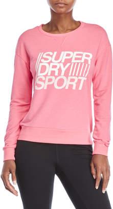 Superdry Lightweight Sport Logo Sweatshirt