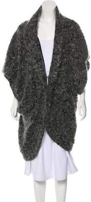 Elizabeth and James Casual Mohair Coat