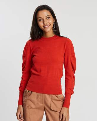 Finders Keepers Josie LS Knit Top