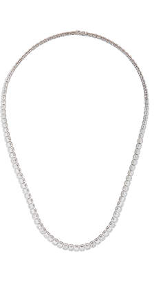 Anita Ko 18K Emerald-Cut Diamond Choker