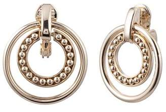 Ralph Lauren Orbital Clip-On Hoop Earrings