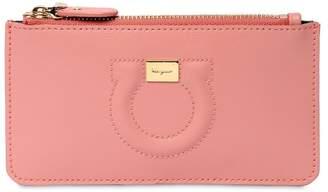 Salvatore Ferragamo City Leather Card Holder