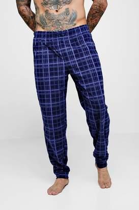 boohoo Yarn Dye Check Lounge Pants