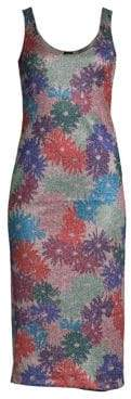 Margherita Splendid x Missoni Brillaire Metallic Floral Dress