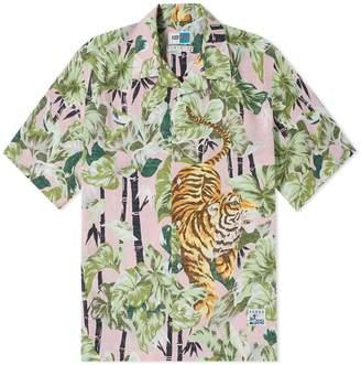 Kenzo Bamboo Tiger Hawaiian Shirt