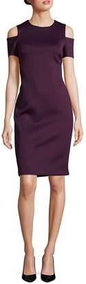 Calvin Klein Women's Cold Shoulder Dress
