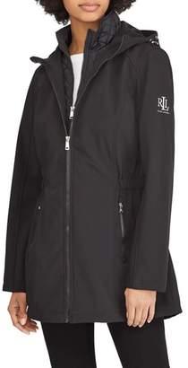 Lauren Ralph Lauren Hooded Shell Jacket