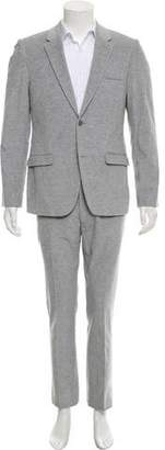 Calvin Klein Collection Corduroy Two-Button Suit