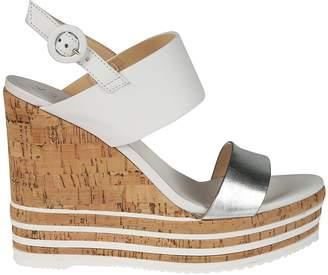 Hogan H361 Wedge Sandals