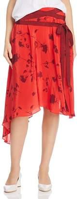 Preen Line Yolan Asymmetric Midi Skirt