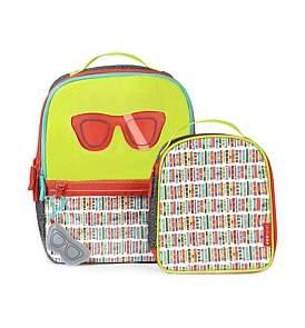 Skip Hop Kindergarten Glasses Backpack Set