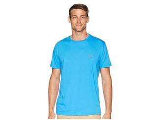 Lacoste Short Sleeve Pima Crew Neck T-Shirt