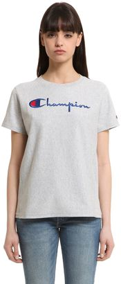 Champion Cotton Jersey T-Shirt $48 thestylecure.com