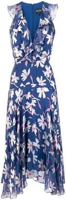 Saloni floral ruffle dress