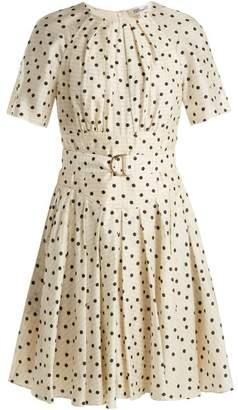 Diane von Furstenberg Ana polka dot-print silk dress