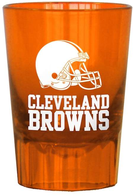 Boelter Cleveland Browns 4-Pack Shot Glass Set