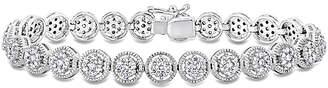 Diamond Select Cuts 18K 2.55 Ct. Tw. Diamond Station Bracelet