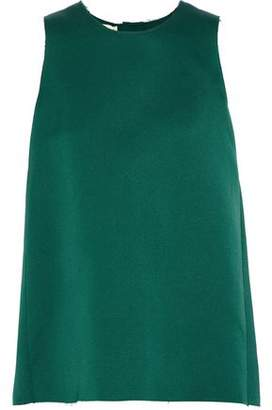 Marni Silk And Cotton-Blend Satin Tunic