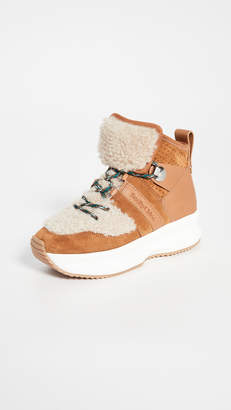 See by Chloe Casey Shearling Sneakers