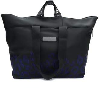 adidas by Stella McCartney leopard effect holdall