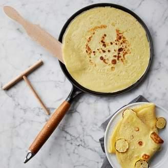 Staub Cast-Iron Crêpe Pan with Spreader & Spatula