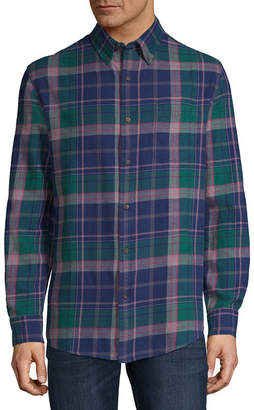 ST. JOHN'S BAY Long Sleeve Flannel Shirt