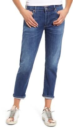 Citizens of Humanity Emerson Crop Slim Fit Boyfriend Jeans