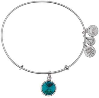 Alex and Ani December Birthstone Expandable Bangle
